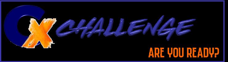 CX Challenge rectangular logo